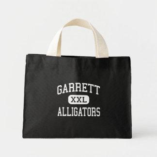 Garrett - Alligators - Middle - Garrett Indiana Canvas Bag