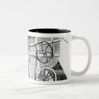 Garrett and Sons Patent Combined Threshing Mug