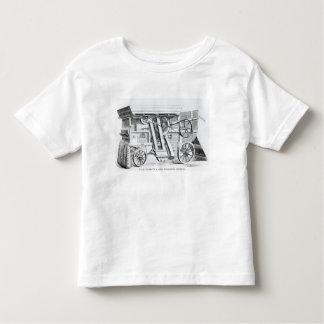 Garrett and Sons Patent Combined Threshing Toddler T-shirt
