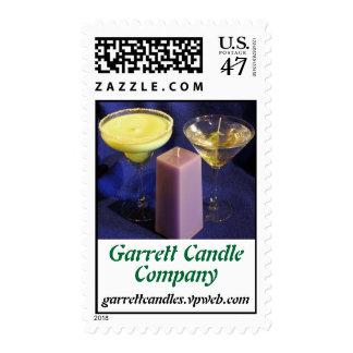Garrett Candle, Company, garrettcandles.vpweb.com Postage