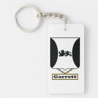 Garrett Family Crest Keychain