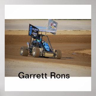 Garrett Rons 2011 sprint Poster