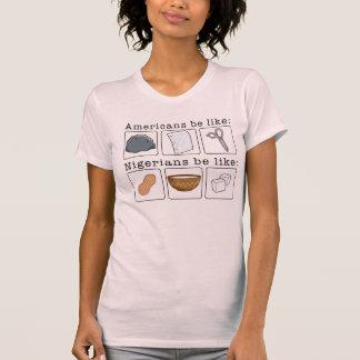 'Garri, groundnut and Sugar' T-shirt