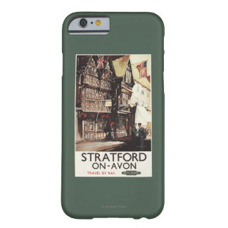 Garrick Inn and Harvard House Rail Poster Barely There iPhone 6 Case