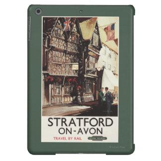 Garrick Inn and Harvard House Rail Poster Case For iPad Air