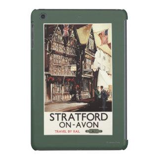 Garrick Inn and Harvard House Rail Poster iPad Mini Cover