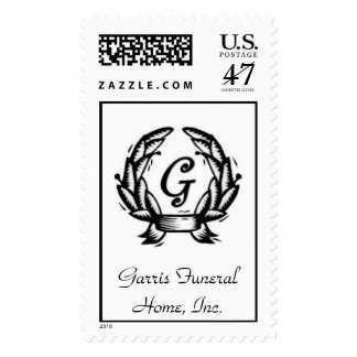 Garris Logo Stamp2 Postage