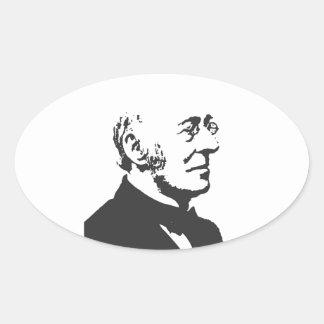 Garrison Oval Sticker