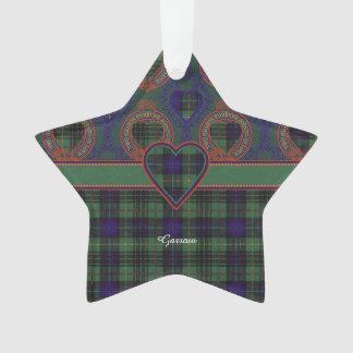 Garrow clan Plaid Scottish kilt tartan Ornament