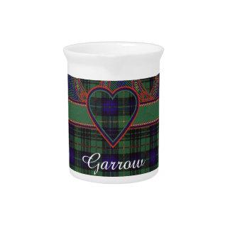Garrow clan Plaid Scottish kilt tartan Pitcher