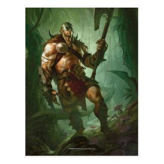 Garruk, cazador principal tarjeta postal