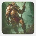 Garruk, Primal Hunter Square Sticker