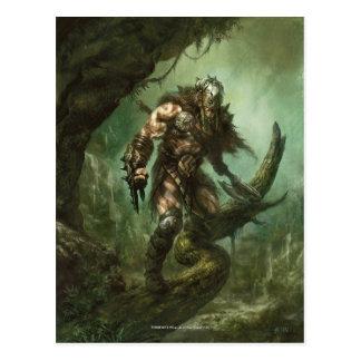 Garruk Wildspeaker Postcard