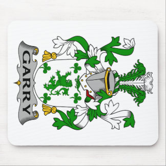 Garry Family Crest Mouse Pad