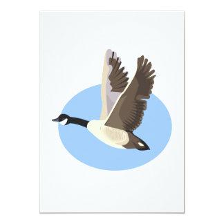 Garry Goose 5x7 Paper Invitation Card