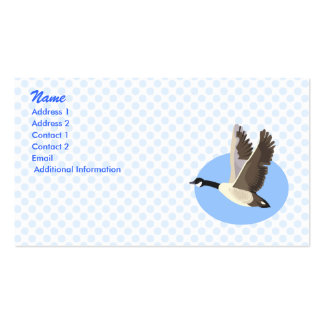 Garry Goose Business Cards