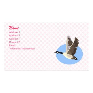 Garry Goose Business Card
