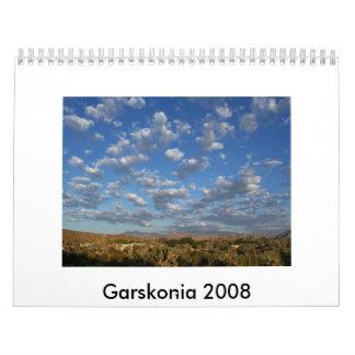 Garskonia 2008 calendars