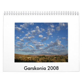Garskonia 2008 calendar