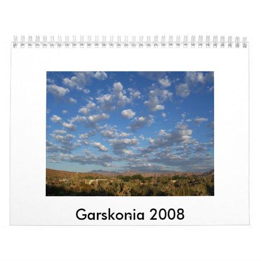 Garskonia 2008 calendario de pared