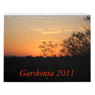 Garskonia 2011 calendar