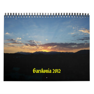 Garskonia 2012 calendar