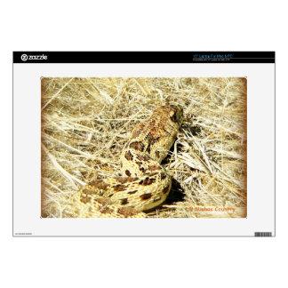 """Garter Snake 15"""" Laptop Skins"""