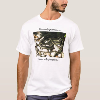 Garter Snake Take Only Pictures T-Shirt