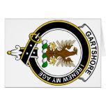 Gartshore Clan Badge Greeting Cards