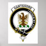 Gartshore Clan Badge Posters