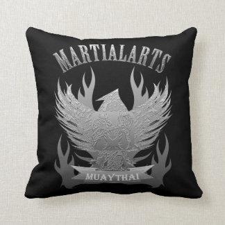 Garuda, Muay Thai, Martial Arts and Kick Boxing Throw Pillow