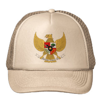 Garuda Pancasila, t arma Indonesia, Indonesia Gorro