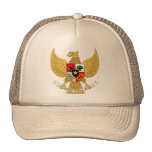 Garuda Pancasila, t Arms Indonesia, Indonesia Mesh Hat