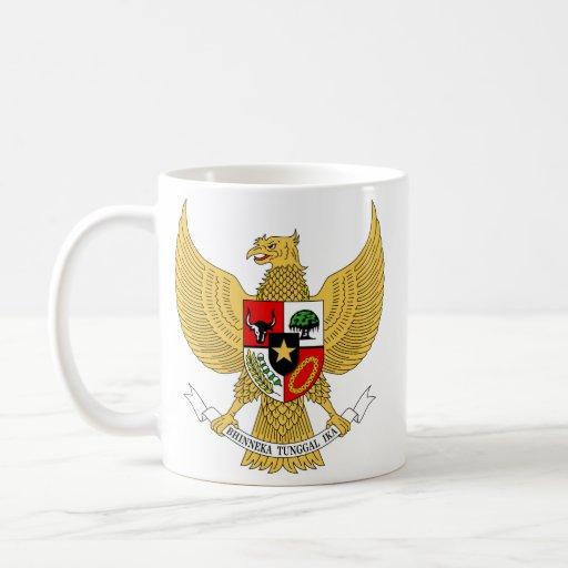 Garuda Pancasila, t Arms Indonesia, Indonesia Mug