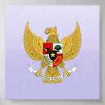 Garuda Pancasila, t Arms Indonesia, Indonesia Poster