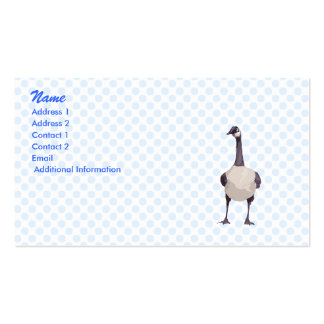 Garvey Goose Business Card Template