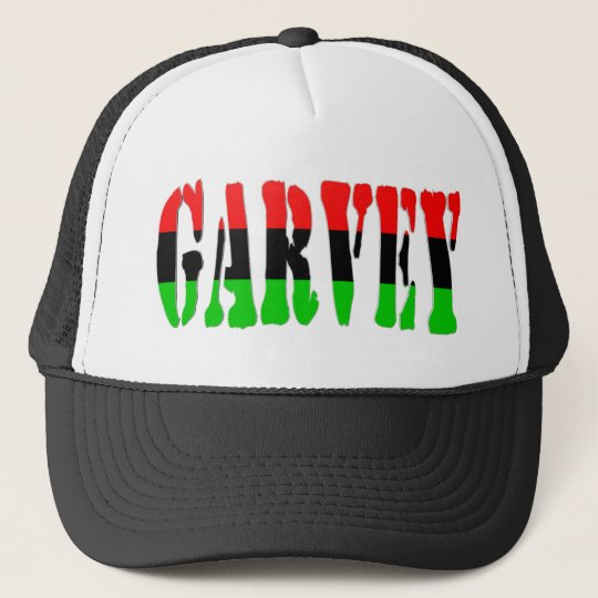 Garvey Pan-African Flag Trucker Hat