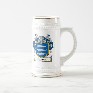 Garvin Family Crest Coffee Mugs