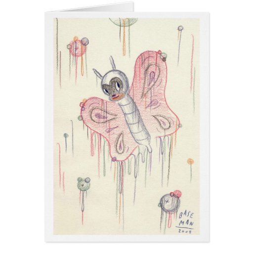 Gary Baseman - Greeting Card - Sketch for Change