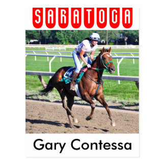 Gary Contessa Workouts Postcard
