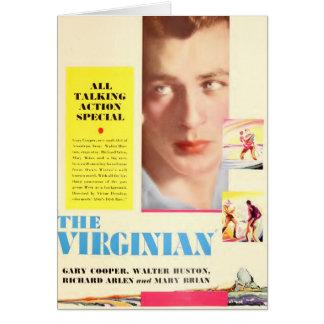 Gary Cooper 1929 The Virginian color card