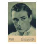 Gary Cooper 1930 portrait Greeting Cards