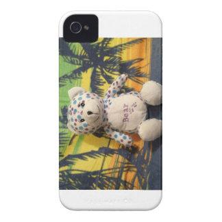 Gary el beary en el caso 4s del iphone 4 de Hawaii Case-Mate iPhone 4 Protectores