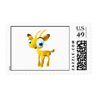 Gary el Gazelle Timbres Postales