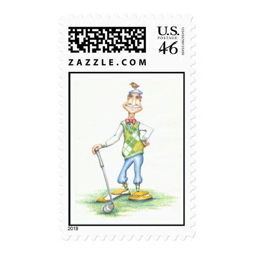 Gary el golfista franqueo