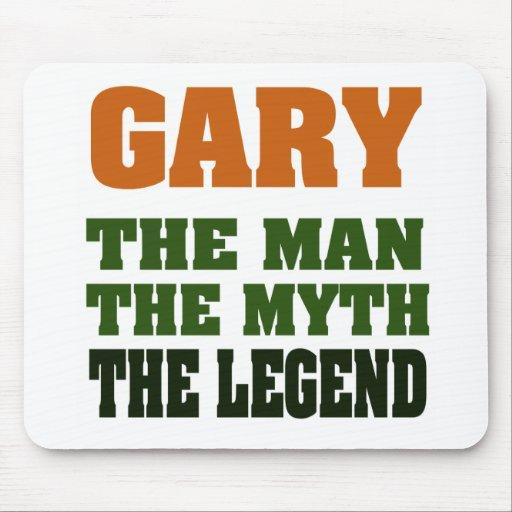 ¡Gary - el hombre, el mito, la leyenda! Mousepads