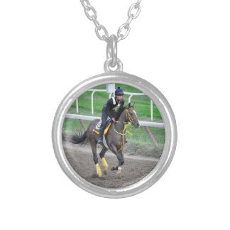 Gary Gullo Workouts at Saratoga Silver Plated Necklace