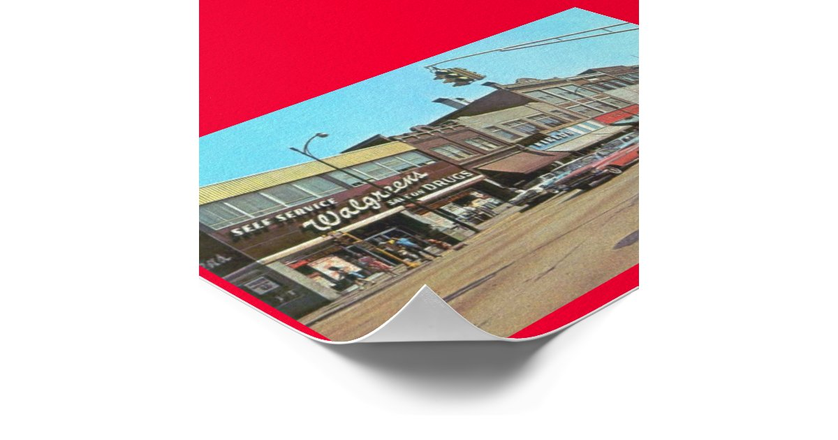 gary in walgreens broadway amp 6th poster zazzle