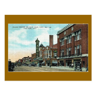 Gary, Indiana in the early 20th century Postcard