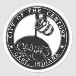 Gary, Indiana Seal Stickers